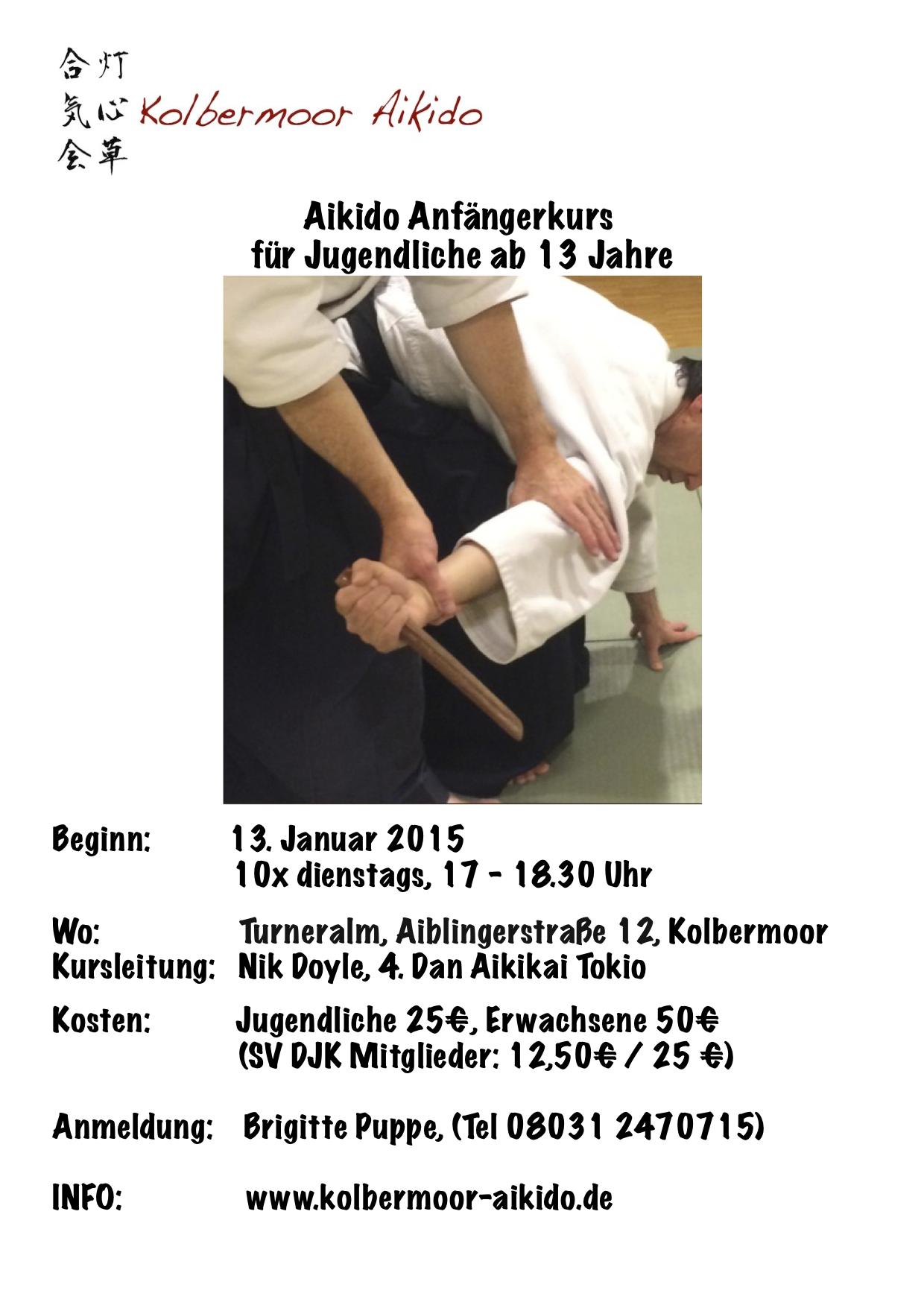 Aikido Anfänger Jan 15